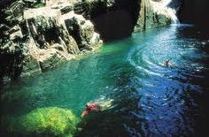 Outback QLD swimming in water holes would be heaven :)