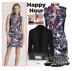 """""""Bottoms Up: Happy Hour"""" by lorisgolfshoppe ❤ liked on Polyvore featuring Jofit, Charlotte Tilbury, happyhour and lorisgolfshoppe"""