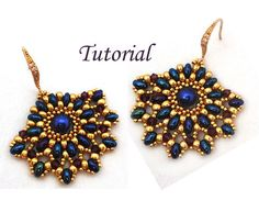 Tutorial Ladies Fan Earrings