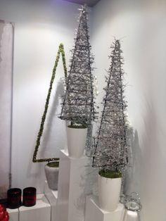 Kerstboom op frame
