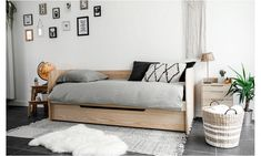 Hemnes Day Bed, Home Salon, Extra Rooms, Daybed, Furniture Decor, Kids Bedroom, Bungalow, Toddler Bed, Ikea