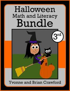 Halloween Bundle for 3rd grade - $