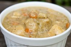 Clean Eating:  #Clean #Eating Chicken and Dumplings.