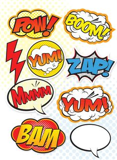 Fathers Day Crafts Discover Superhero Party Signs - Large Medium & Small / Party Decor / Food and Dessert Table / Photo Props Birthday Party For Teens, Superhero Birthday Party, Birthday Diy, Birthday Wishes, Girl Birthday, Birthday Recipes, Truck Or Treat, Superhero Signs, Batman Party