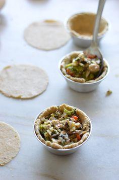Empadas de vegetais | A Cozinha da Ovelha Negra