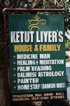 Bali. Ketut Liyer. Prosperity.