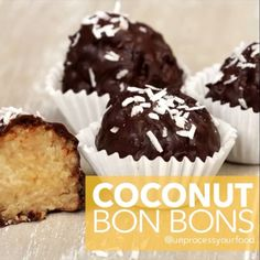 I started watching The Great British Bake Off because I just love watching people cook. I was inspired to create these Bon Bons. They are clean and would be a perfect tea time snack, treat, decoration, or midnight indulgence.