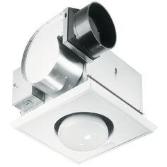 Silver Heller Ceiling Light/Heater Globe/Ducted Exhaust Fan Bathroom/Heat/ Lamp
