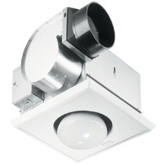 NuTone Bathroom 70 CFM Exhaust Fan with Heat Lamp and Light UN 9417-DN