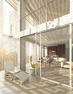 Restello apartment building. Kolkata (Calcutta), India by Piercy Conner Architects
