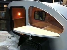 Learn More about our simplest and most affordable Teardrop Trailer.