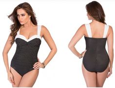 Miraclesuit Saxon Underwire Retro Control Shaper One Piece Swimsuit $190 NWT 12 #Miraclesuit #OnePiece