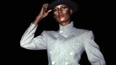 Grace Jones slays Rihanna, Miley, Gaga and Kanye in this exclusive extract from her autobiography Grace Jones, Full Length Gowns, Julia, Lady And Gentlemen, Celebs, Celebrities, Amazing Grace, Famous Faces, Playing Dress Up