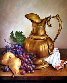 My Prints for Decoupage – Ana María Padilla Huerta – Willkommen in der Welt der Frauen Oil Painting Pictures, Pictures To Paint, Art Pictures, Fruit Painting, Wine Art, Still Life Art, Fruit Art, Beautiful Paintings, Painting Techniques