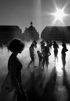 writing prompt: The people. So many people! they had suddenly appeared en mass, frolicking and batheing in the water. It was strictly rationed so to have a pipe burst was a luxury so rare that everyone wanted a chance to experience something that was never likely to happen again. even if it did mean the risk of being punished...  JS