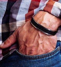 Mens Gift for Christmas Personalized Bracelet Custom Mens