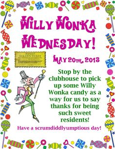 Resident Event This Wednesday! Everyone Is Invited To Stop By The Clubhouse  For A Very  Apartment Community Event Ideas