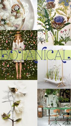 I'm so enjoying the botanical trend in interior and fashion. Dresses with plant inspired patterns and houses full of flowers and green tones. Images: eddas | nina in florida | frida giannini (via patternbank) | patrick nadeau (via designboom) | kari herer | vtwonen