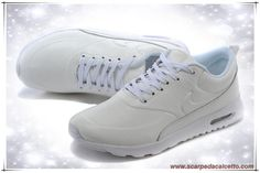 lowest price aea33 99ff1 616723-061 New Leather Bianco Bianco Nike Air Max Thea Print Uomo palloni da
