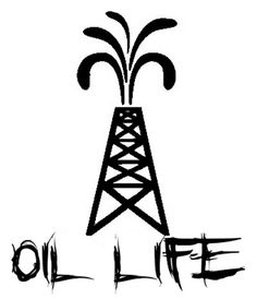Oil Life Derrick Decal