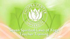 Seven Spiritual Laws of Yoga Teacher Training. The Seven Spiritual Laws of Yoga teacher training certification is a Yoga Alliance 200-hour c...