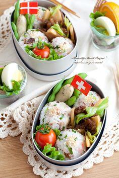 塩サバと紅しょうがの春色おにぎり弁当♪|あ~るママオフィシャルブログ「毎日がお弁当日和♪」Powered by Ameba