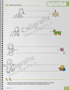 Trazos y Letras Nº1 Bullet Journal, Album, Reading, School, Facebook, Texts, Home, Preschool Alphabet Activities, Preschool Math Activities