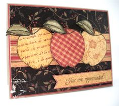 SEP12VSNI - Apple Trio by ohmypaper! - Cards and Paper Crafts at Splitcoaststampers