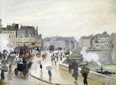 Claude Monet - The Pont Neuf, 1871