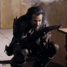 I love how he smiles  And how he crouches! Think...   Canadian Musketeers Garrison
