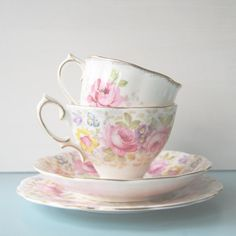 vintage tea cup photo, kitchen art, shabby chic decor, pastel tones, flowers, pale pink, cottage chic, gift giving size, 4x4 tea cup photo