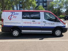 A new design for an old client. Love the new look! Van Wrap, Sign Design, Signage, Feelings, Billboard, Signs