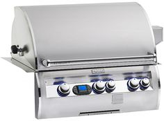 """Fire Magic Aurora A660i  Stainless Steel Built In 30"""" Gas Grill with Rotisserie, Back Burner   seattleluxe.com"""