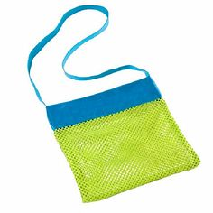 Sale 13% (2.39$) - Kids Toys Shell Collect Grid Beach Bag Mesh Backpack New Baby Beach Pouch Children Beach Tote