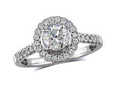 centre Colour D, Clarity - 1380110598 Diamond Cluster Ring, Diamond Rings, Diamond Engagement Rings, Diamond Jewelry, Jewellery Uk, Clarity, Centre, Colour, Style