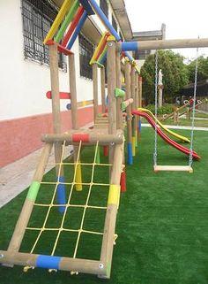 SPYD-PARQUES, Parques Infantiles de Madera, Barranquilla
