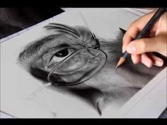 Pencil drawing timelapse: Eye drawing 'MONOCHROME' - Hyperrealistic art - YouTube
