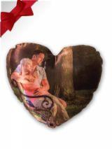 polštářek ve tvaru srdce