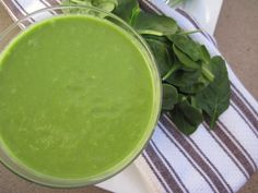 Creamy Green Apple Smoothie