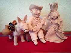 Mexican Family ....by Probst Pottery