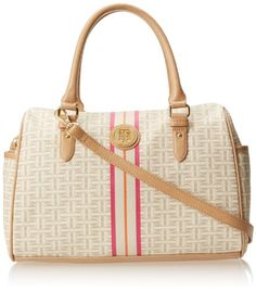 Tommy Hilfiger Coated Classics Converitble Top Handle Bag,Biscuit Tonal,One Size Tommy Hilfiger,http://www.amazon.com/dp/B00HR14VFU/ref=cm_sw_r_pi_dp_SIigtb17F9J9PGKV