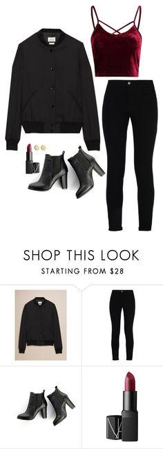 """Iris West Inspired Outfit"" by daniellakresovic ❤ liked on Polyvore featuring STELLA McCARTNEY, SWEET MANGO, NARS Cosmetics and Loren Stewart"