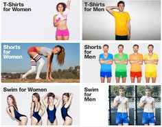 Men Need Clothes; Women Need to Look Sexy  | Just one example (American Apparel) of the way women are sexualized every day