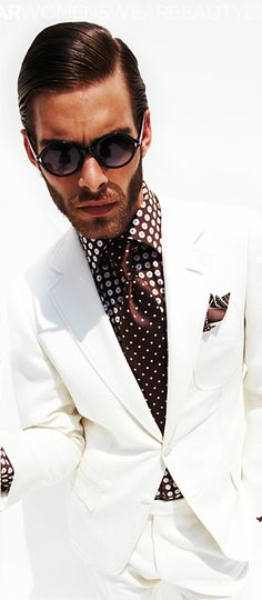 Tom Ford-I could so own this look!
