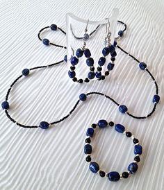 Black & Blue on Etsy, $74.00