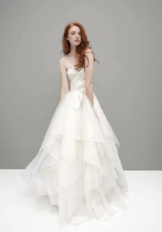 organza wedding dress  GORGEOUS!