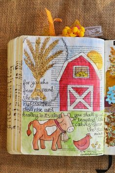 Malachi 4:2, October 25, 2016, carol@belleauway.com, Watercolor, Lawn Fawn stamps, Illustrated Faith Pen, bible art journaling, bible journaling, illustrated faith