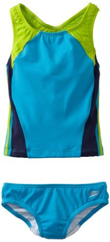 Speedo Big Girls'  Solid Infinity Splice Tankini Swimsuit, New Surf, 10 Speedo http://www.amazon.com/dp/B009TPKK8Y/ref=cm_sw_r_pi_dp_ZBbDub1EDTD2C
