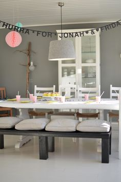 Feien og Fjong | inspiration for birthdaytable, birthdaystyling, partystyling, styling in kitchen