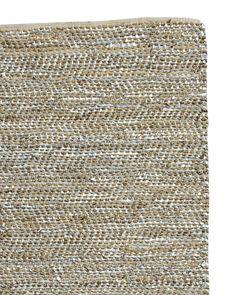 Metallic Suede & Hemp Rug - Rugs & Dhurries | Serena and Lily